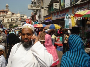 Business on the Cell:  Crawford Market, Bombay
