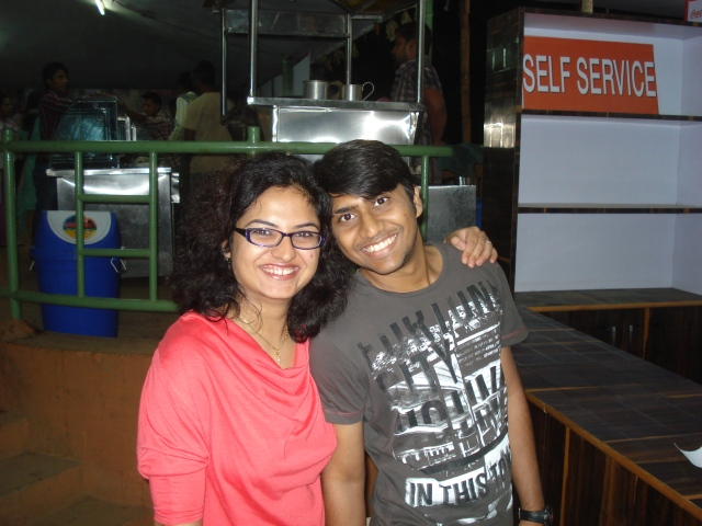 Bhawna and Anuj in Hyderabad