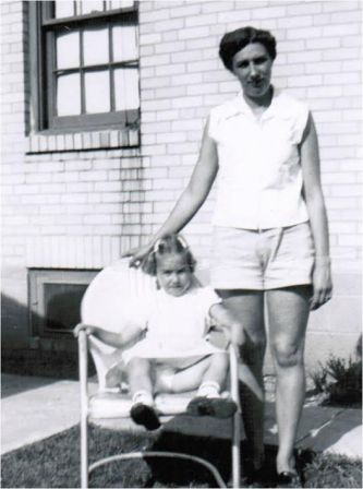 Deb and Betty, Circa 1953