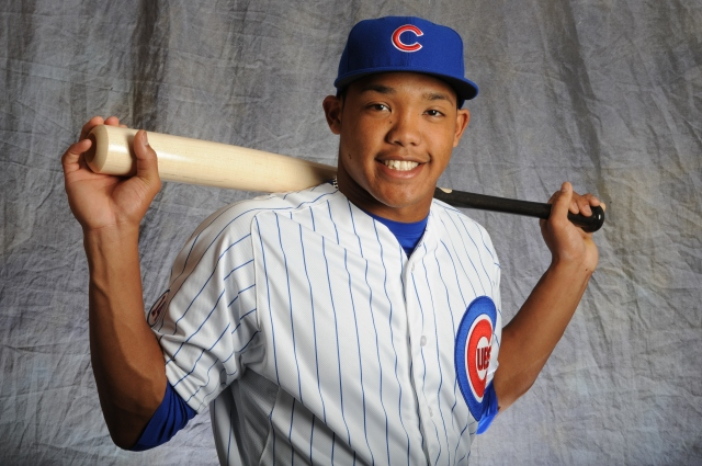 Addison Russell of the Chicago Cubs